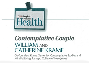 201 Magazine   People to Watch in Health   Contemplative Couple: Willian and Catherine Krame